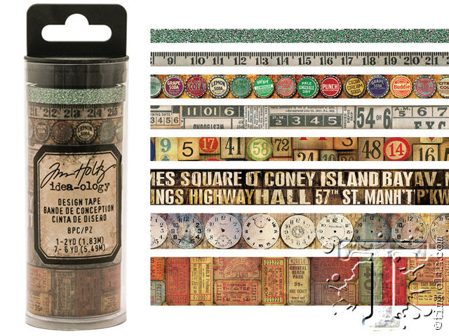 Idea-0logy Design Tape 8/Pkg - Vintage - Artified Shop