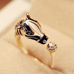 Stylish Horse Ring
