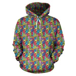 Cartoon Cat II Hoodies