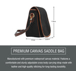 Steampunk VI Saddle Bag