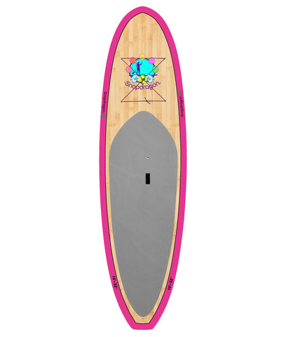 10'6 Purple Bamboo Snapdragon Paddleboard Package - BruSurf
