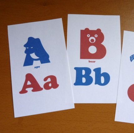 Animal Alphabet Printable Flash Cards