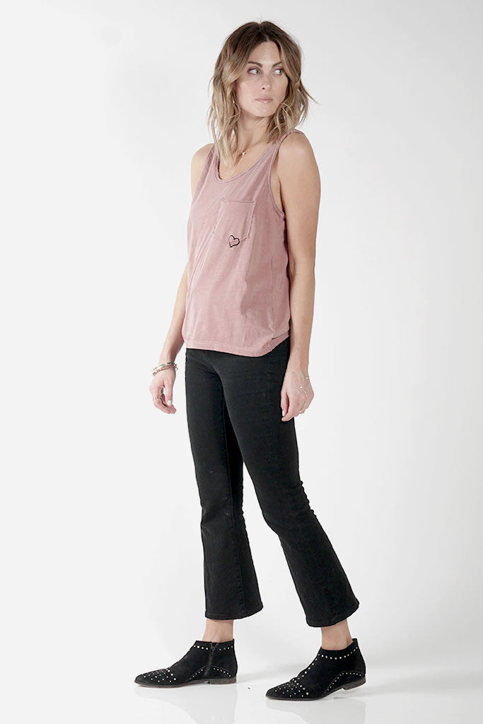 AMOUR TANK - DARK ROSE - Knot Sisters