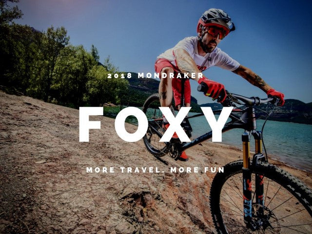 2018 Mondraker Foxy - New Frame, Geometry and Specs