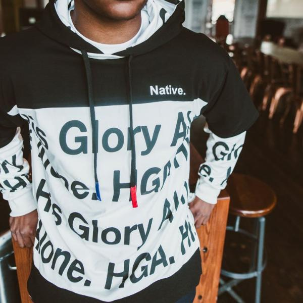 HGA Hype All Over Print Hoodie