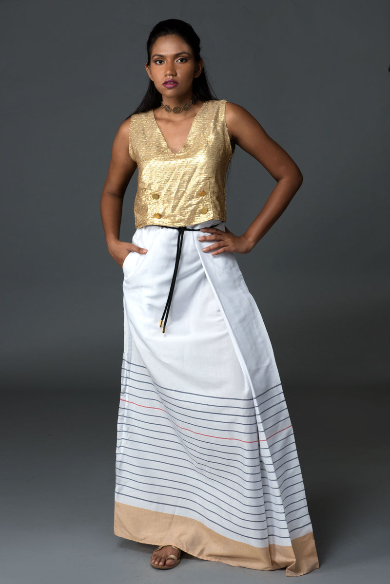 Classic French Nautical Sarong