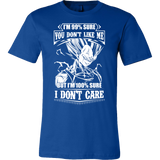 Super Saiyan Vegeta Dont Care Men Short Sleeve T Shirt - TL00283SS