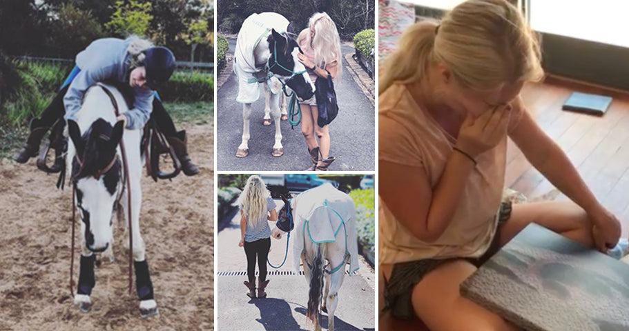 Daughter Who Loses Horse to Cancer Receives Sentimental Gift