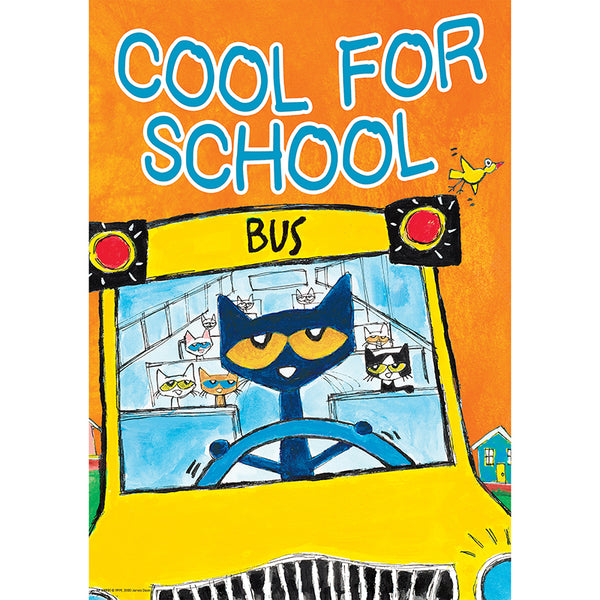 Bulletin Board Chart-Character Building-Motivational-Cool for School-Pete the Cat