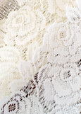 Table Linen-Mantle Scarf-20x90-Tea Rose-Heritage Lace