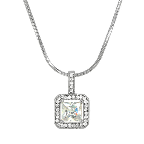 "Alexis ""Cushion Cut"" Necklace"