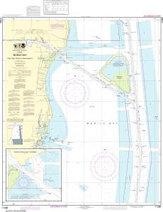 US NOAA Chart 11378 Intracoastal Waterway Santa Rosa Sound to Dauphin Island