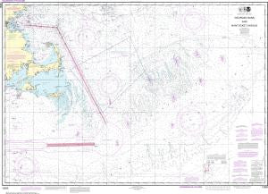 US NOAA Chart 13200 Georges Bank and Nantucket Shoals