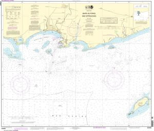US NOAA Chart 25683 Bahia de Ponce and Approaches