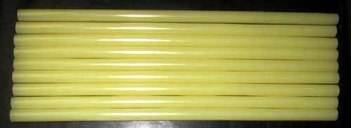 Straw Color Glue Sticks GF17-12 for Product Assembly weight 22 lbs