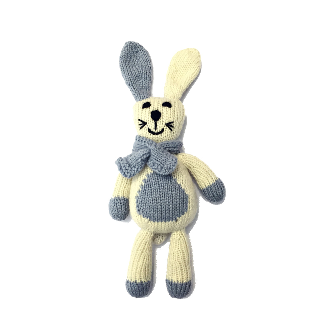 Ramro the Rabbit, Oatmeal/Grey/Blue
