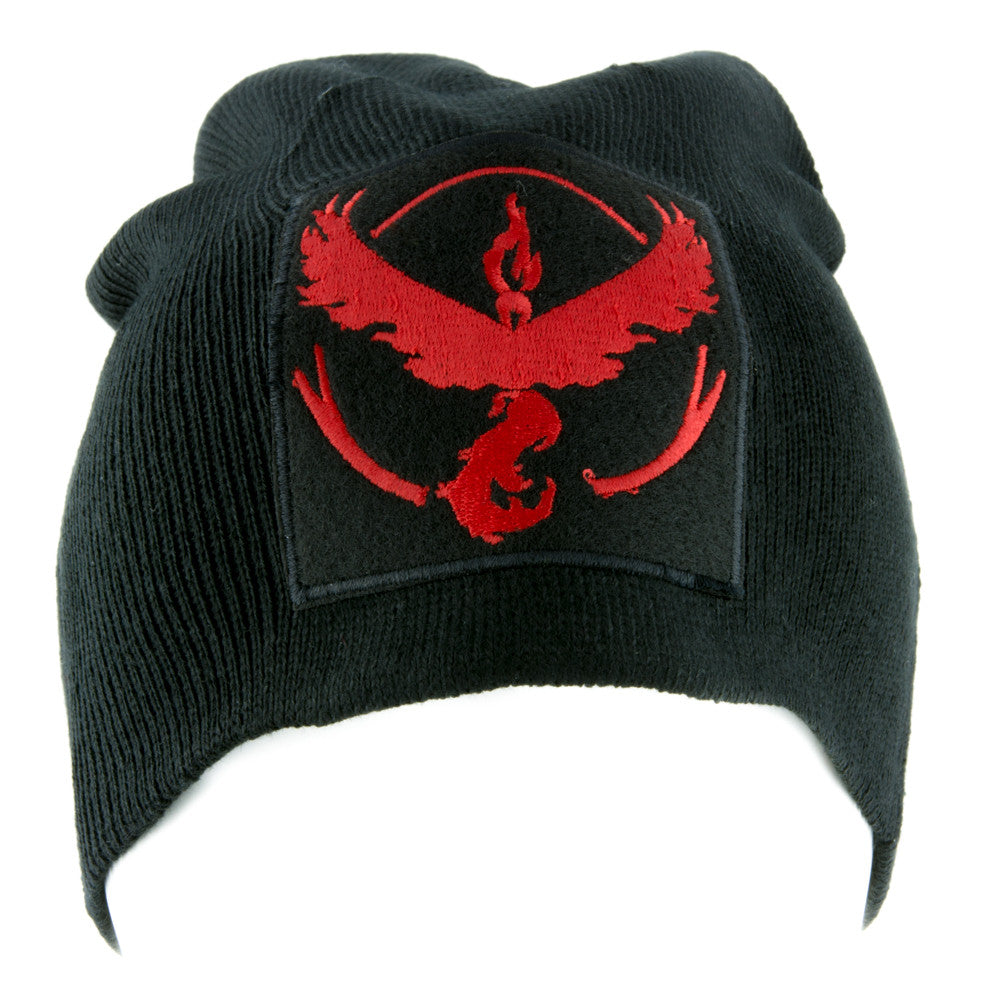 Team Valor Red Pokemon Go Beanie Alternative Style Clothing Knit Cap