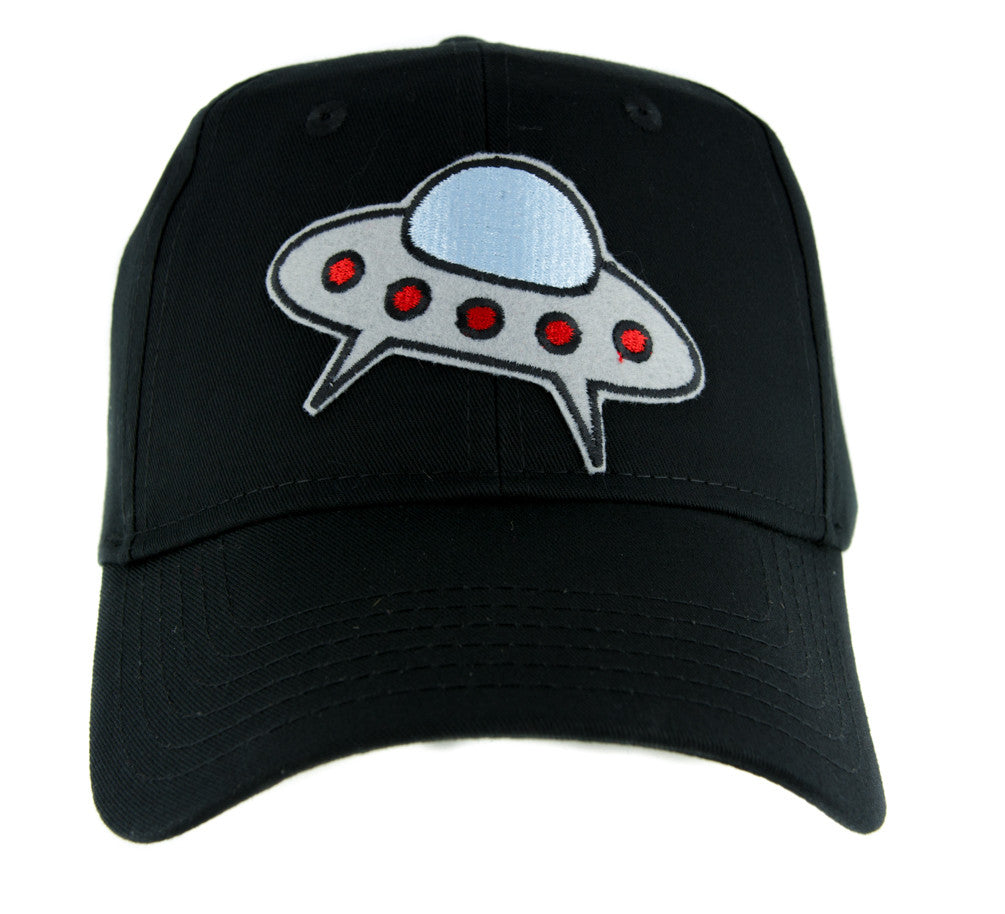 UFO Spaceship Hat Baseball Cap Alternative Clothing I Believe Aliens Area 51