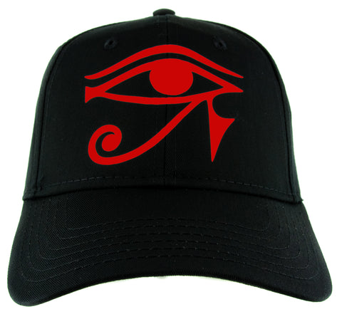 Red Egyptian God Eye of Ra Symbol Hat Baseball Cap Horus Alternative Clothing Snapback
