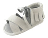 Boho Sandals - 100% Leather - White