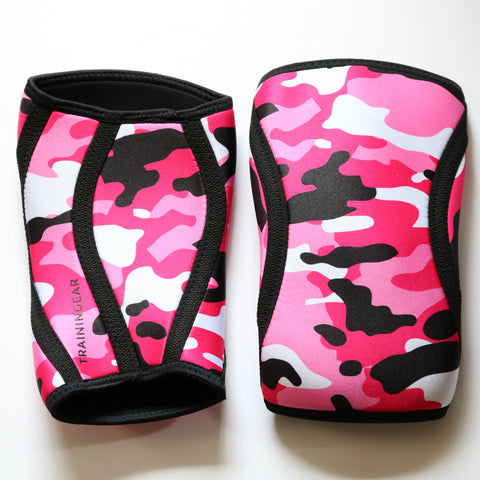 Trainingear Knee Sleeves - Pink Camo
