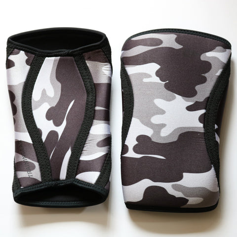 Trainingear Knee Sleeves -  Camo Gray Scale