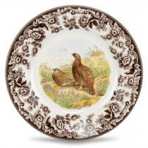 Spode Woodland Red Grouse Salad Plate, 8""