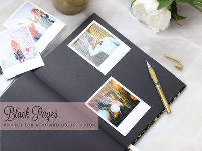 Sakura | Rose Gold Wedding Guest Book