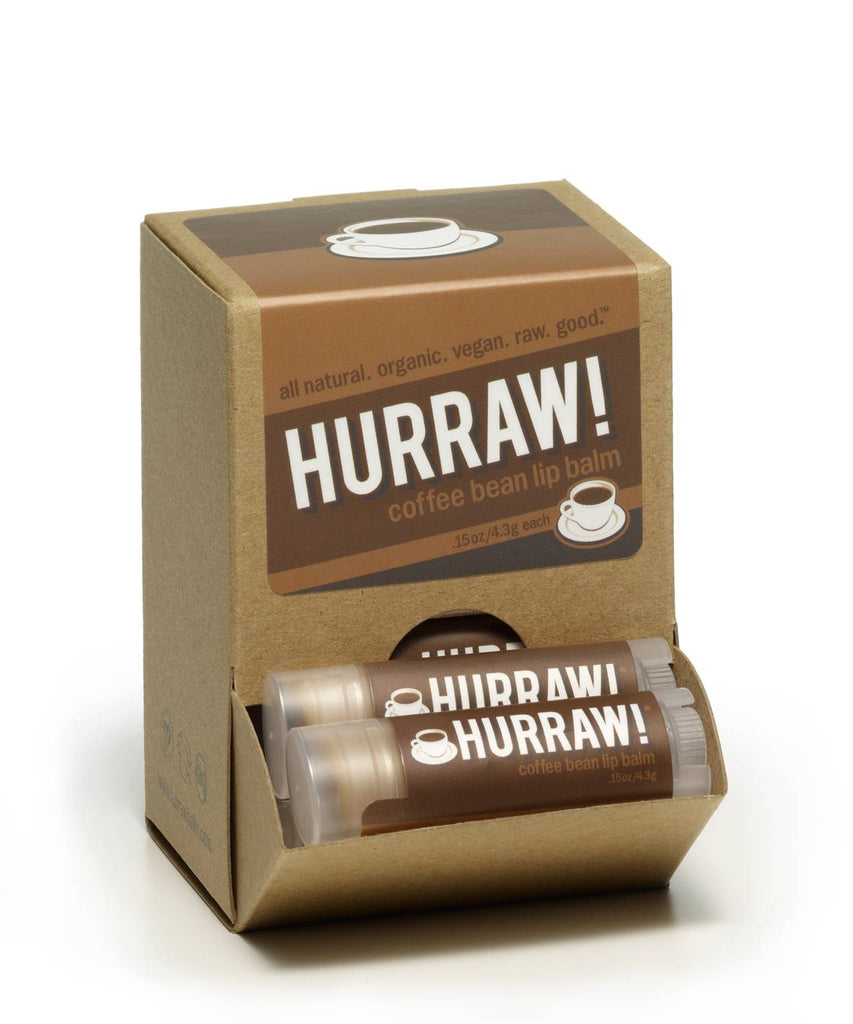 Hurraw! Coffee Lip Balm