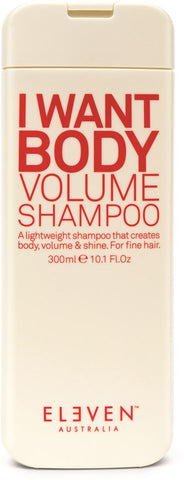 ELEVEN AUSTRALIA I WANT BODY VOLUME SHAMPOO