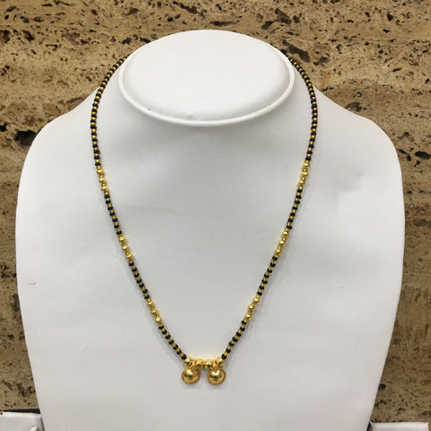 Gold Color Alloy Mangalsutra - 1407N10