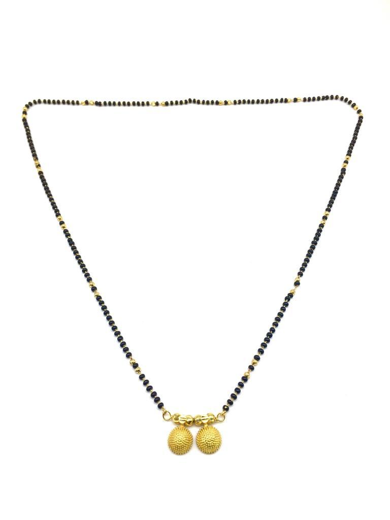 Buy Gold  and  Black Color Special Alloy Mangalsutra