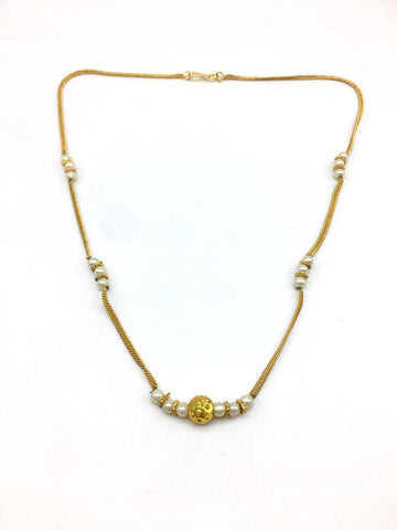 Gold Color Special Alloy Mangalsutra  - 1407N138