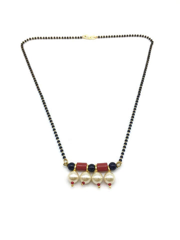 Multicolor Color Special Alloy Mangalsutra  - 1407N139