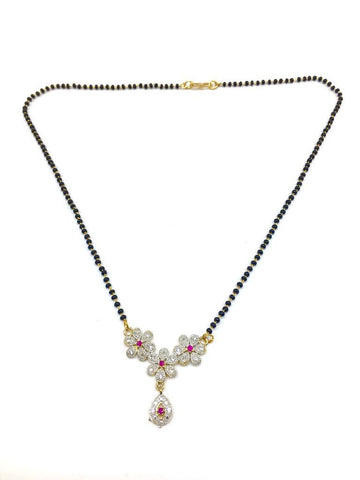 Multicolor Color Special Alloy Mangalsutra  - 1407N140