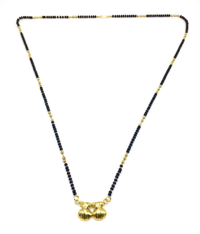 Gold  and  Black Color Special Alloy Mangalsutra  - 1407N155