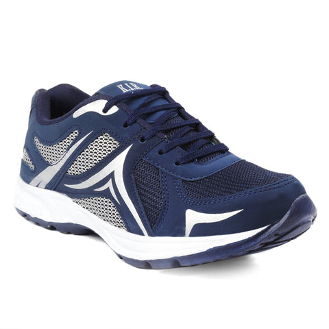 Blue Color Mesh Sports Shoes - AGW-23001