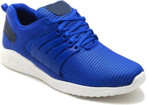 Blue Color Mesh Shoes for Unisex - Air-Blue