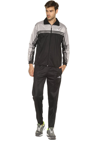 Black Color Polyester Men's Track Suit - HPSBT02