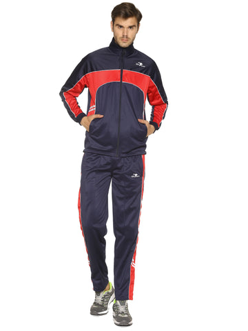 black Color Polyester Men's Track Suit - HPSTK04