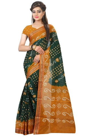 Multi Color Art Silk Saree - JNNAVRANG-11