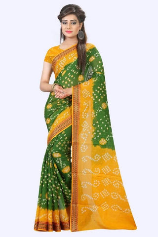 Multi Color Art Silk Saree - JNNAVRANG-12