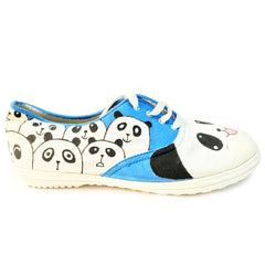 Multi Color  Canvas Unisex Shoe - Panda-Canvas Unisex-15