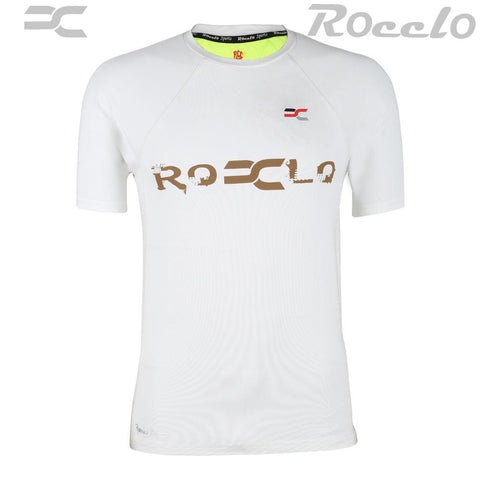 OffWhite Color Polyster T-Shirt - RC-5061
