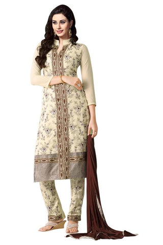 White Color Georgette Un Stitched Salwar - SFST-MSMINYT906
