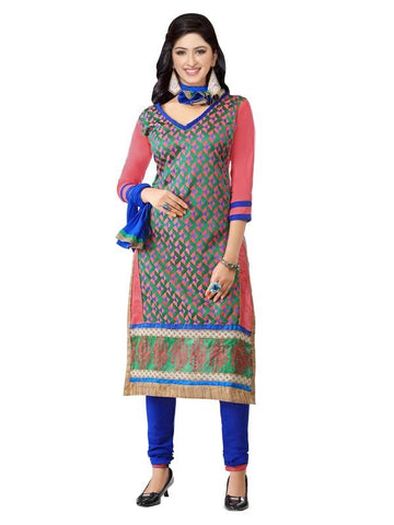 Multi Color Cotton Un Stitched Salwar - SFST-MSMMTN2802
