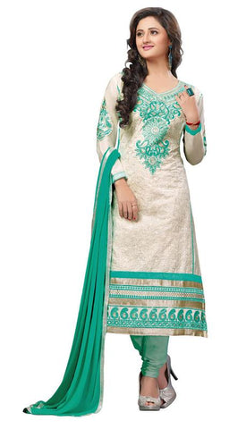 White Color Cotton Un Stitched Salwar - SFST-RD29004