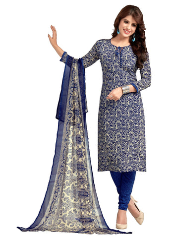 Multi Color Crepe Un Stitched Salwar - SFST-VPIS45024