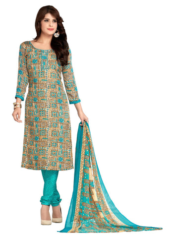 Multi Color Crepe Un Stitched Salwar - SFST-VPIS45026