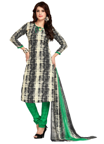 Multi Color Crepe Un Stitched Salwar - SFST-VPIS45027
